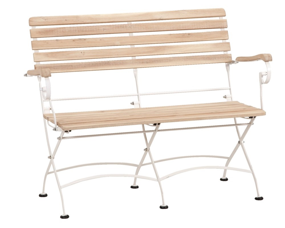 banc de jardin en bois et rotin bancs ext rieur pas cher. Black Bedroom Furniture Sets. Home Design Ideas